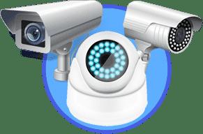 cámara de seguridad bullet, domo y ptz
