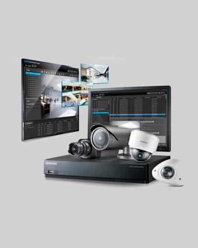kit de cámara de seguridad y monitores