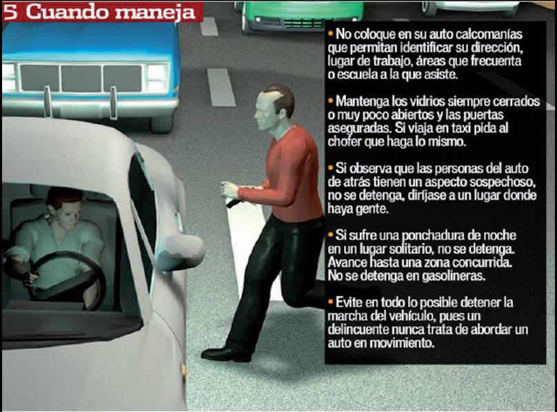 precauciones al manejar