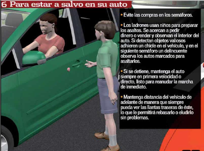 proteccion en el auto