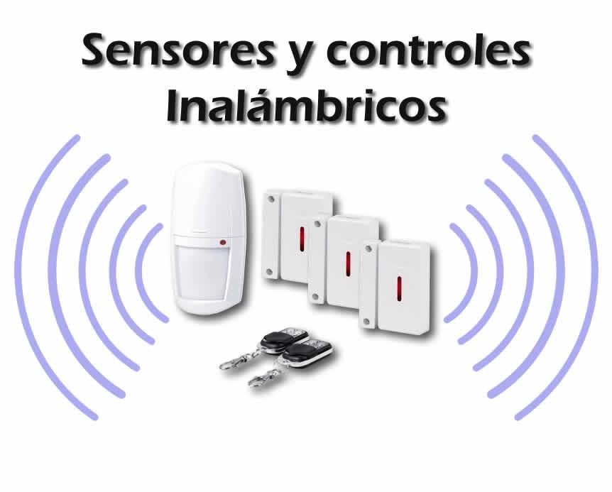 sensores de alarma inalámbricos