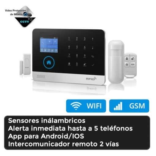 Panel de Alarma WIFI GSM