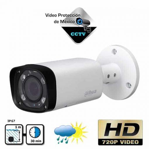 Cámara Bullet HDCVI 720p varifocal