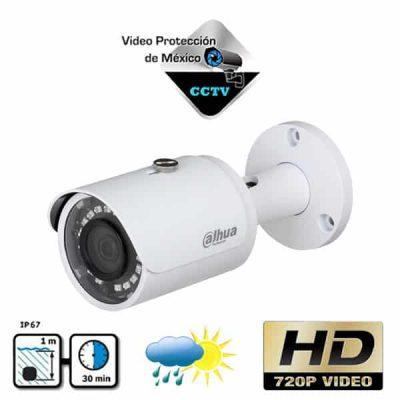 Cámara Bullet HDCVI HD 720p 28mm Blanca