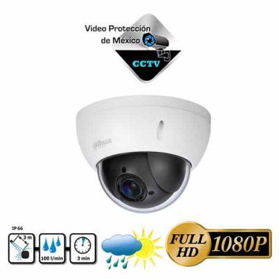 Cámara PTZ 1080p 2MP 4x