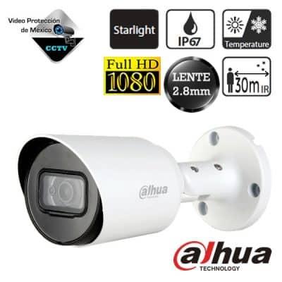 DAHUA Camara bullet HDCVI 1080p Lente 2.8 mm