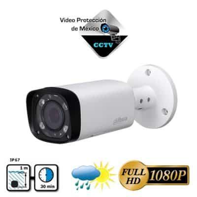 Cámara 1080p varifocal 60m