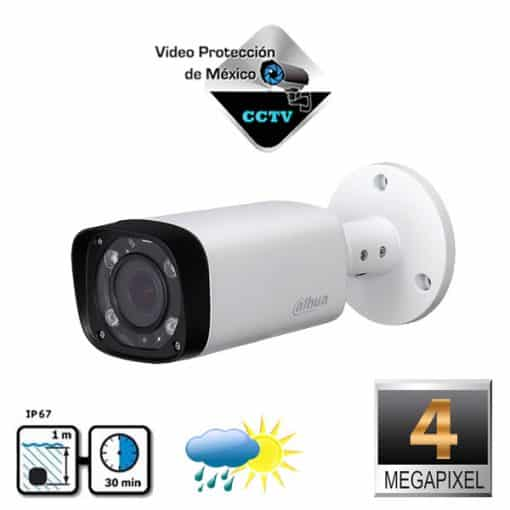camara de vigilancia 4mp lente varifocal
