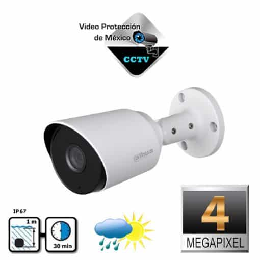 Cámara Bullet4 Megapixeles lente de 2.8 MM