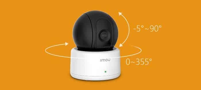 cámara wifi domo ranger con movimiento 360 grados