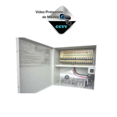 fuente de poder caja 18 cctv