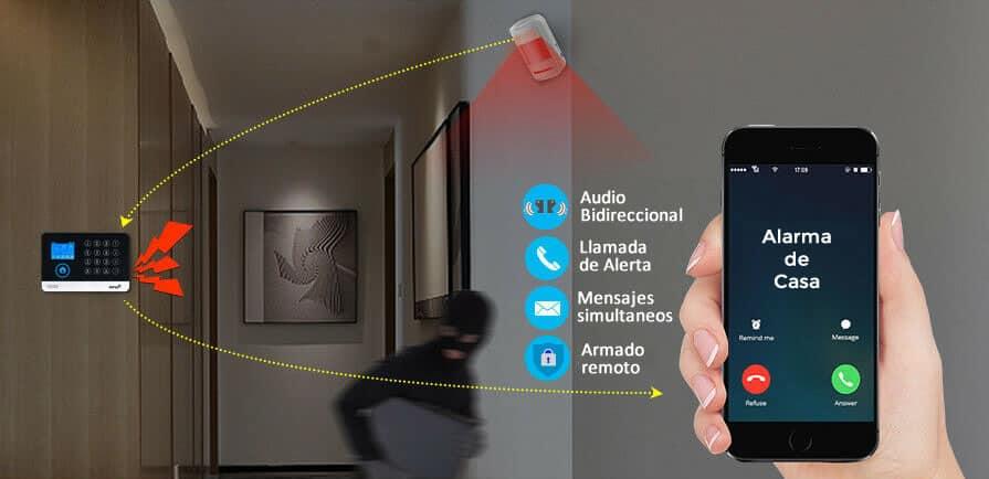 funciones de alarma wifi gsm 3g