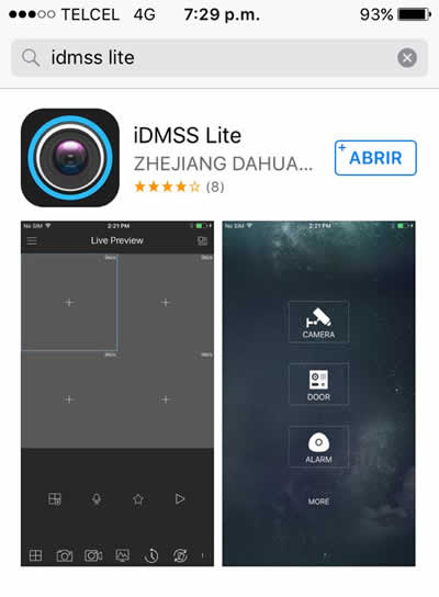 idmss lite for ipad
