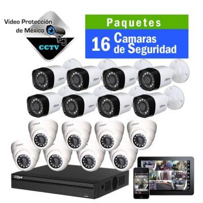 Paquetes de 16 Cámaras de Seguridad
