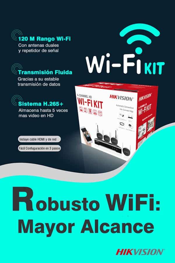 Poster de kit de camaras de seguridad Hikvision