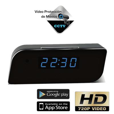 reloj despertador cámara espia